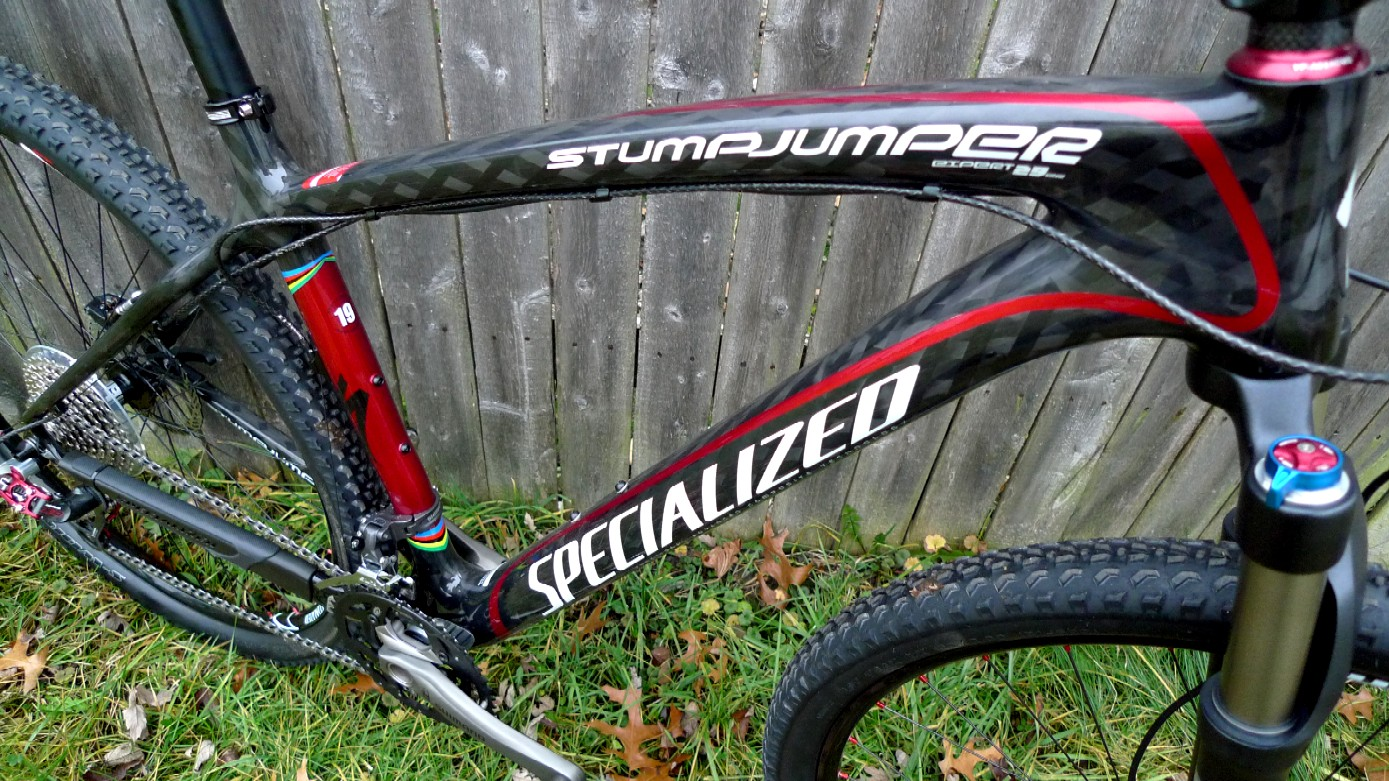 the numbers on the specialized stumpjumper expert carbon 29 in the 19 inch size read like this seat tube1921 effective top tube 2421