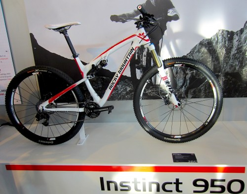 Rocky Mountain Instinct 950 as shown at 2012 Eurobike