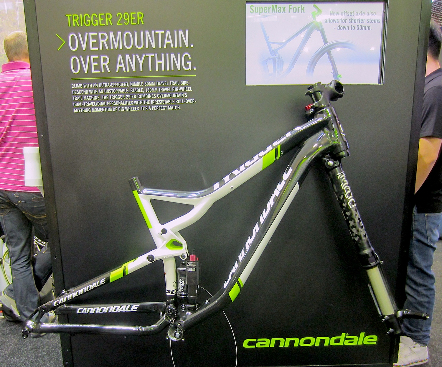 """8c6fd206d42 The new Trigger 29 – as its little brother – belongs to CANNONDALE´s  """"Overmountain"""" category – bikes with dual (not split ;)) personalities."""