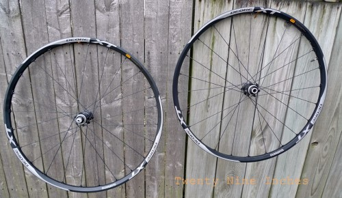 shimano xt 29er wheels