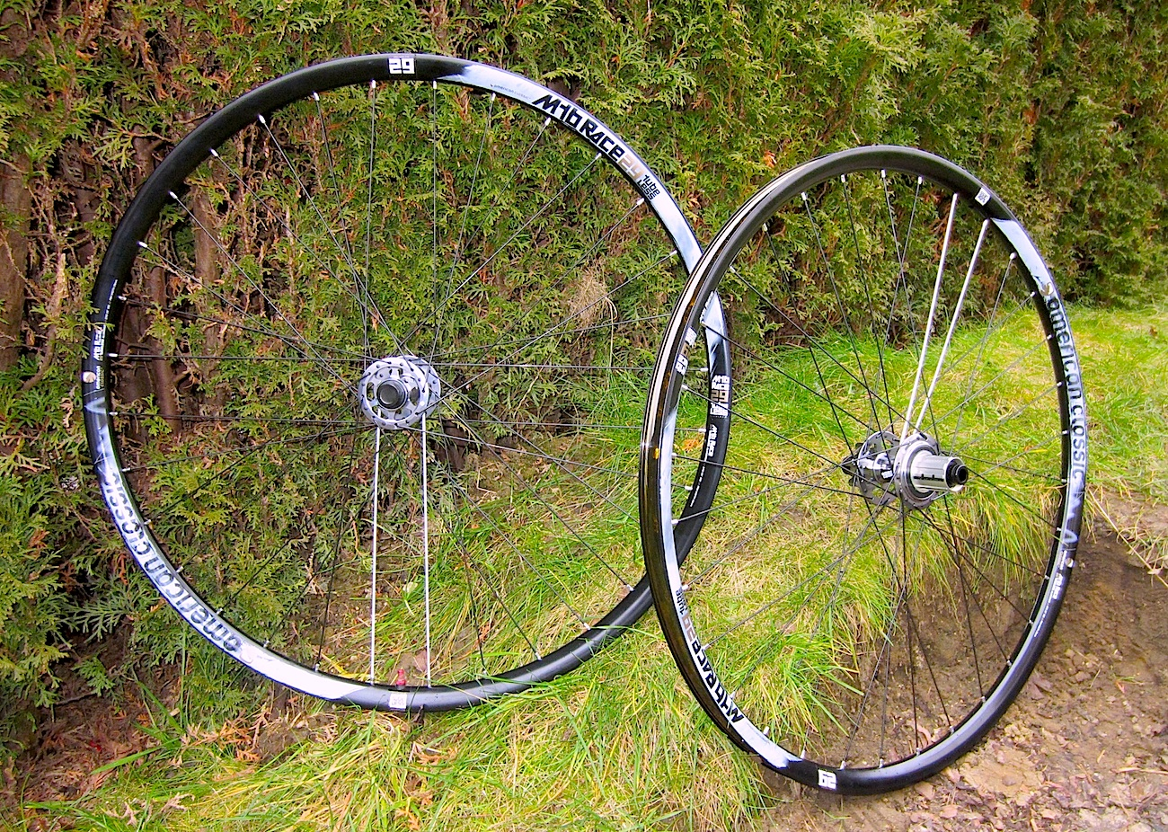 American classic race tubeless 29 er wheels on test for American classic