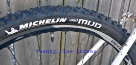 "Michelin Wild Mud 2.0"" 29""er tire"