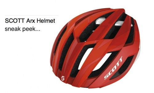 Sneak peek: Scott ARX helmet