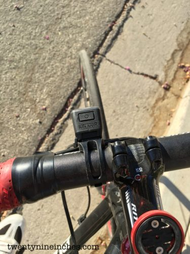Bontrager Ion 100 R and Flare R City
