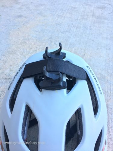 Ethos Components helmet light